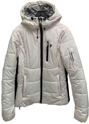 Peak Performance White Jacket for Women
