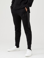 Armani Exchange Joggers With Textured Side Seams