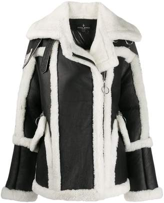Nicole Benisti shearling lined coat