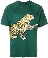 Dolce & Gabbana leopard patch T-shirt