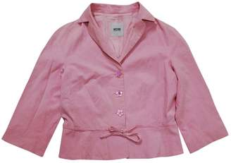 Moschino Cheap & Chic Moschino Cheap And Chic Pink Cotton Jacket for Women