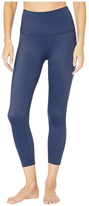 Beyond Yoga Compression High Waisted Capri Leggings (Black) Women's Casual Pants