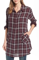 Women's Caslon Plaid Tunic