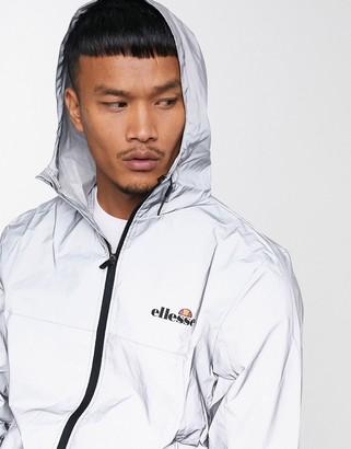 Ellesse Hooded Reflective Lightweight Jacket