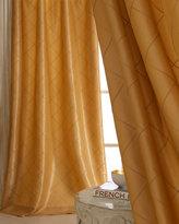 Each Diamond-Pintucked Curtain