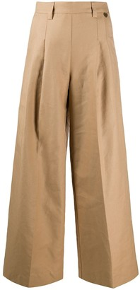 Twin-Set Wide-Leg Tailored Trousers