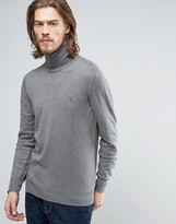 AllSaints Knitted Roll Neck Sweater