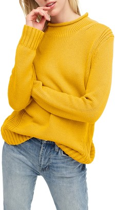 J.Crew 1988 Roll Neck Cotton Sweater