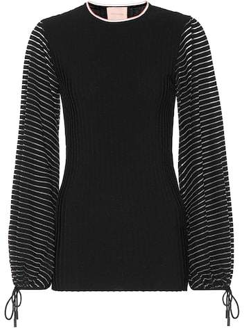 Roksanda Striped jersey top