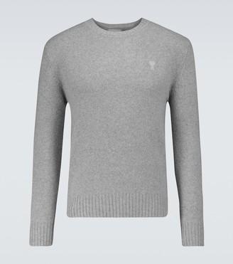 AMI Paris Ami de Coeur cashmere sweater