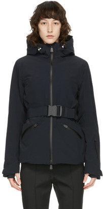 MONCLER GRENOBLE Black Down Surier Jacket
