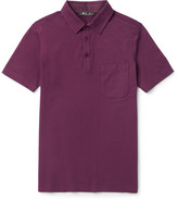 Loro Piana Stretch-Cotton Piqué Polo Shirt