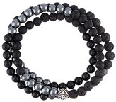 Nialaya Jewelry beaded wrap around bracelet