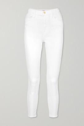Frame Ali High-rise Skinny Jeans - White
