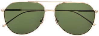 Lacoste Tinted Aviator-Frame Sunglasses