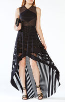 BCBGMAXAZRIA Keanna High-Low Lace Dress