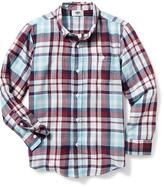 Old Navy Twill Button-Down Shirt for Boys