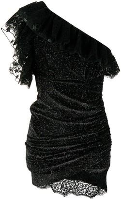Giamba ruffle mini dress