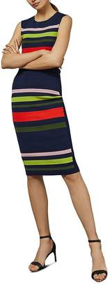 Ted Baker Ysina Striped Bodycon Dress
