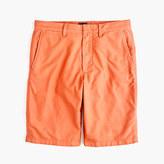 """J.Crew 10.5"""" Solid Oxford Short In Ripe Orange"""