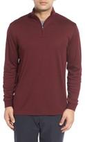 Cutter & Buck Men's 'Belfair' Quarter Zip Pima Cotton Pullover
