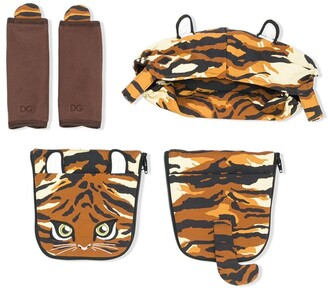 Dolce & Gabbana tiger baby carrier covers