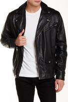 Obey Generation Genuine Leather Jacket
