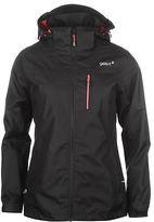 Gelert Womens Horizon 3in1 Jacket Coat Top Long Sleeve Waterproof Breathable