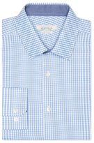 Perry Ellis Very Slim Mini Gingham Dress Shirt