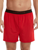 Perry Ellis Solid Luxe Boxer Short