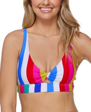 Raisins Juniors' Coast To Coast Twist-Front Bikini Top Women's Swimsuit