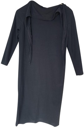 Rick Owens Black Cotton - elasthane Dresses