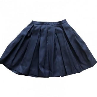 Burberry Navy Skirt for Women