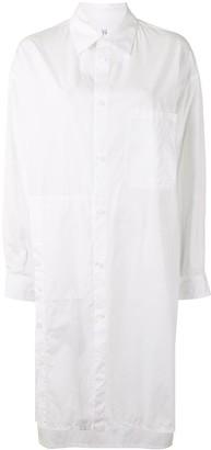 Y's Pocket-Detail Shirt Dress
