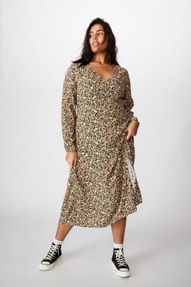 Cotton On Curve Madie Midi Dress