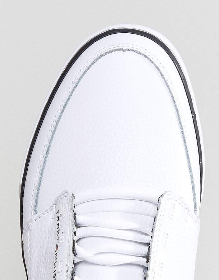 Tommy Hilfiger Harrington Sneakers Leather In White