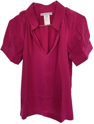 Paul & Joe Sister Pink Silk Top for Women