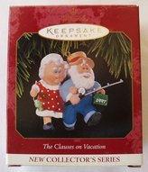 Hallmark 1997 Clauses on Vacation Ornament