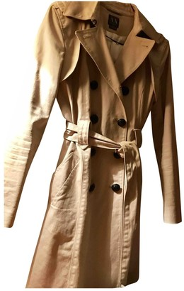Emporio Armani Beige Trench Coat for Women