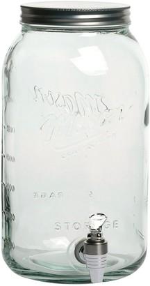 Mason Jars Mason Jar 8-Liter Drink Dispenser with Metal Lid