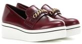 Stella McCartney Binx Falabella Embellished Platform Slip-on Sneakers