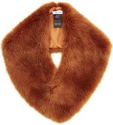 Reiss Betsy - Faux-fur Collar in Brown, Womens