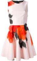 MSGM abstract print dress