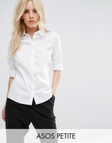 Asos Fitted White Shirt