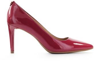 Michael Kors Dorothy Flex Cherry Red Patent Leather Pump