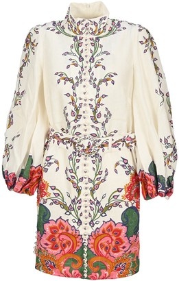Zimmermann The Lovestruck Buttoned Tunic Dress
