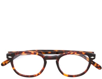 Lesca '711' Tortoiseshell Glasses