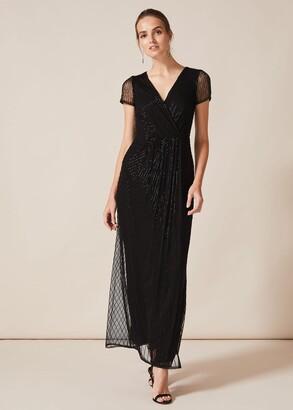 Phase Eight Natasia Beaded Maxi Dress