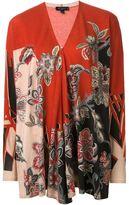 Etro floral paisley print cardigan