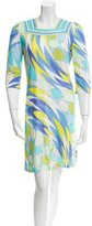 Emilio Pucci Printed Mini Dress